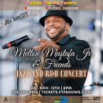 MUSIC@SRT: Melton Mustafa Jr. & Friends: Jazz and R&B Concert