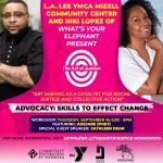 The Art of Justice: Art-Making workshop + community dialogue (3 of 4)