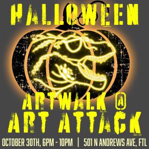 Artwalk at Art Attack!