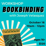Bookbinding Workshop with Joseph Velasquez