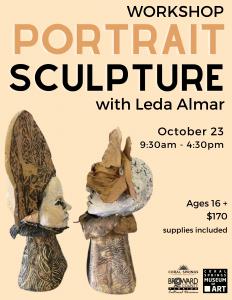 Portrait Sculpture Workshop with Leda Almar