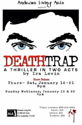 DEATHTRAP: A Thriller in Two Acts by Ira Levin
