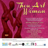 Thou Art Woman- LGBT Open Mic Night!
