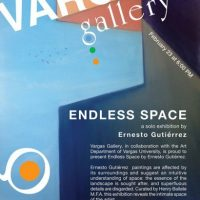 Endless Space, a solo art exhibit by Ernesto Gutiérrez
