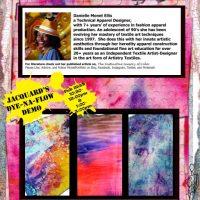 Monet Portfolio demo's Jacquard's Dye Na Flow