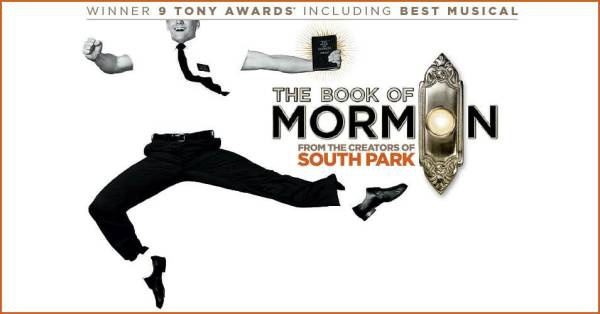 Now with standing room only productions in London, on Broadway, and across North America, THE BOOK OF MORMON has truly become an international sensation. Contains explicit language. All patrons, regardless of age, must have a ticket. The Book of .