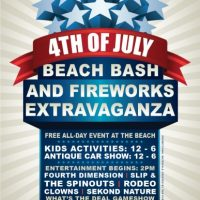 2015 Beach Bash and Fireworks Extravaganza