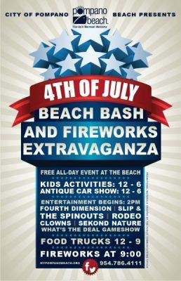 2015 Beach Bash and Fireworks Extravaganza