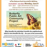 Butterfly Public Art Community Project