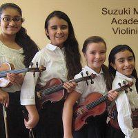 Suzuki Violinists Classical Music Recital