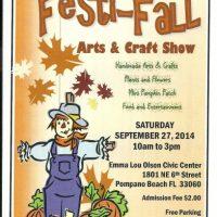 2nd Annual FESTI-FALL ARTS & CRAFT SHOW