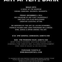 Beaux Arts presents Art After Dark A Night at the Museum