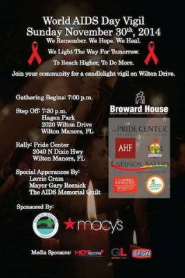World AIDS Day Vigil presented by World AIDS Day Planning