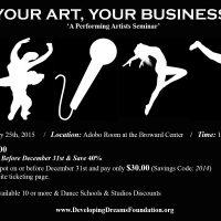 Your Art, Your Business - Artist Seminar
