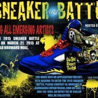 Sneaker Art Battle