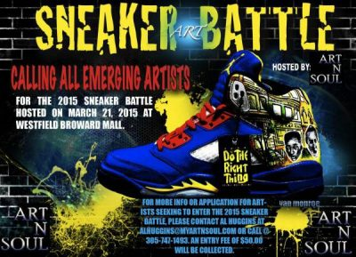 Sneaker Art Battle