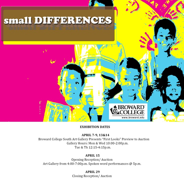 Art Calendar Broward : Small differences presented by broward college south