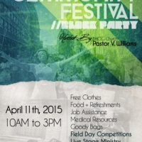 Community Festival (Block Party)