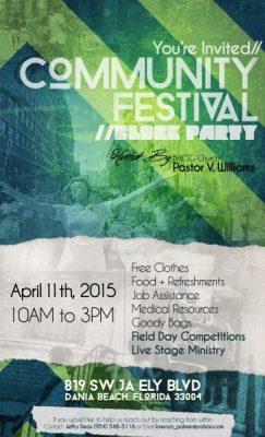 Community Festival (Block Party)