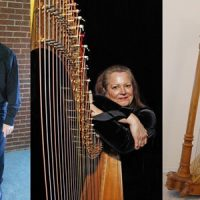 The South Florida Harp Ensemble with Organist Mark Jones