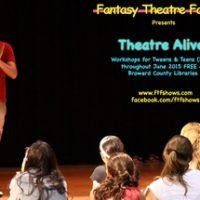Theatre Alive! Workshop for Tweens & Teens ( ages 11-19)