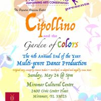 Cipollino and the Garden of Colors