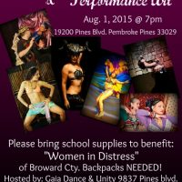 Evening of Belly Dance & Performance Art