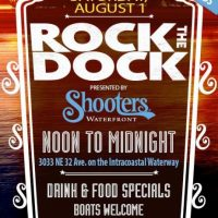 "Shooters Waterfront Presents ""Rock the Dock"""