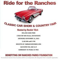 Ride for the Ranches-Car Show & Country Fair