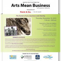 Arts Mean Business Speaker Series- Business for the Arts of Broward