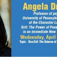 Broward College Speaker Series: Angela Duckworth