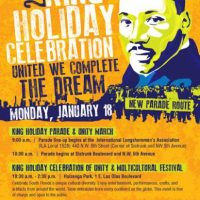 King Holiday Celebration