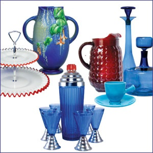 Vintage Glass, Pottery, and Dinnerware Show & Sale