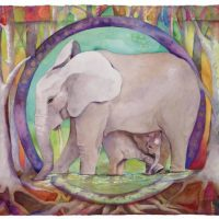 THE ELEPHANT IN THE ROOM Exhibit