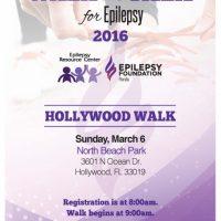 Walk the Talk for Epilepsy Hollywood Walk