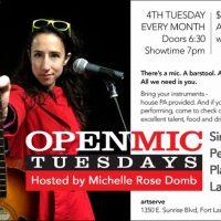 Open Mic Tuesdays