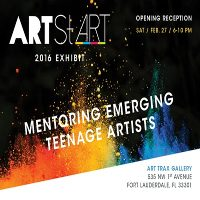 ArtStART 2016 Exhibit: Mentoring Emerging Teenage Artists