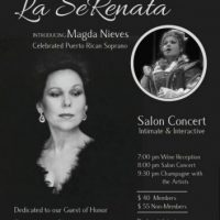 La SeRenata...Magda Nieves, Celebrated Soprano serenades the legendary Prima Donna RENATA SCOTTO!