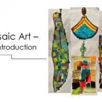 Mosaic Art - An Introduction with BaCA AiR Cindy Trezona