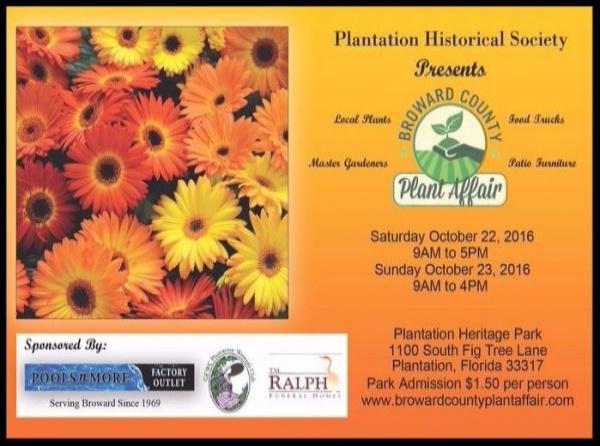 Art Calendar Broward : Broward county plant affair presented by plantation