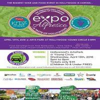 21st Annual Expo Alfresco – A Taste of Hollywood