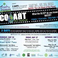 """ECO/ART FILM FEST 2016, themed """"WATER: Lifeblood of the Planet"""""""