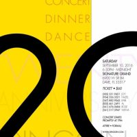 Dinggin 20: A Concert, Dinner, Dance Event