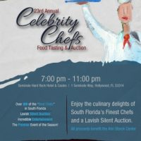 23rd Annual Celebrity Chefs Food Tasting & Auction