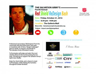 Red Shield ReDesign Bash with Celebrity Guest Host Ty Pennington