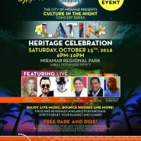 The City of Miramar Culture in the Night Series: Latin Heritage Celebration!