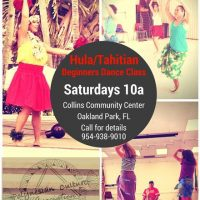 Hula/Tahitian Dance Class