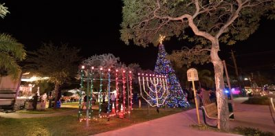 Wilton Manors Holiday Lighting Ceremony