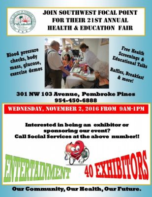 SW Focal Point 21 Annual Health & Education Fair