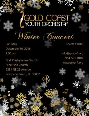 Gold Coast Youth Orchestra Winter Concert